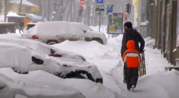 Сніг, зима, погода, Україна