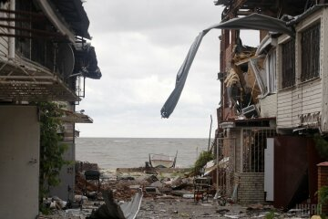 Широкино Море, разрушения УНИАН