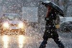 погода, мокрый снег