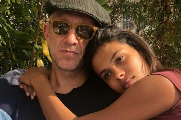 Венсан кассель с женой, Тина Кунаки