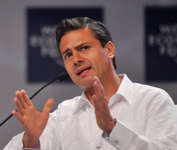 президент Мексики Пенья Ньето