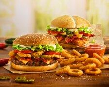 фастфуд бургер