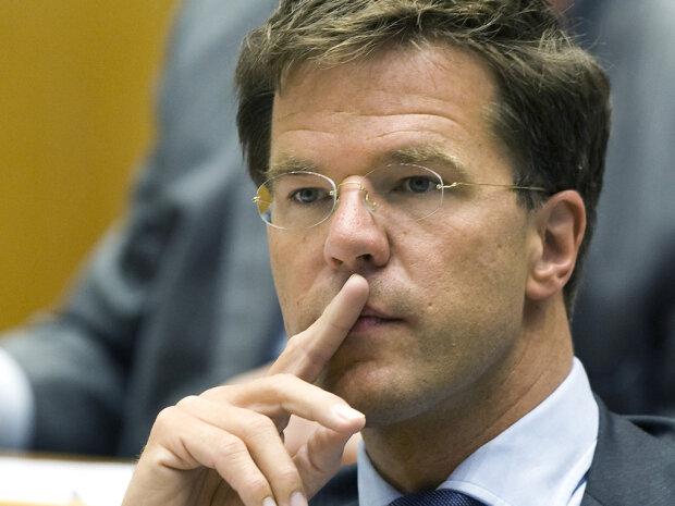 премьер-министр Нидерландов Марк Рютте,