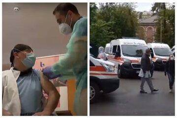 """В Одесі заявили, чому щеплених везуть до лікарні: """"В анотації вказано..."""""""