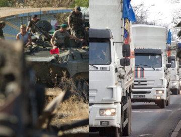 """В МИД Украины бьют тревогу, на Донбасс прут фуры с """"подарками"""" от РФ: """"против наших воинов..."""""""