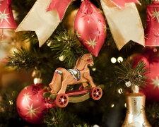 Новый год, игрушка, елка