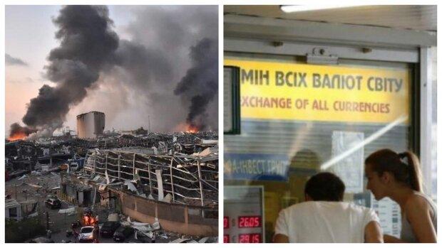 Причина взрыва в Бейруте, новые правила для украинцев и атака доллара - главное за ночь
