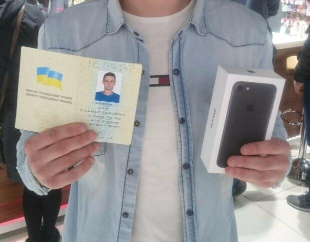 На что готовы украинцы ради iPhone
