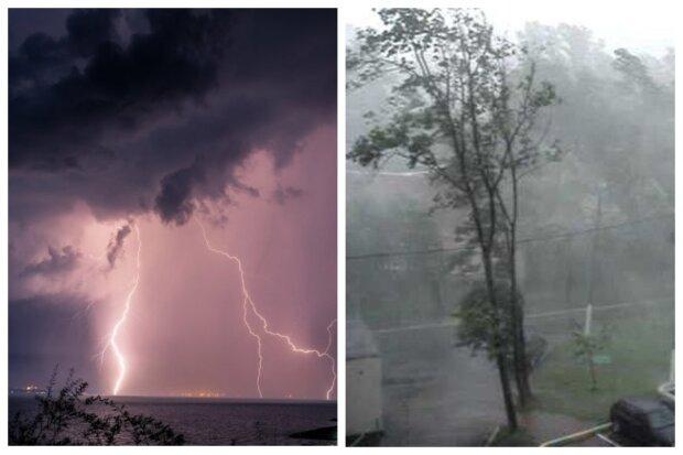 """Мощный циклон пронесется по Одессе: """"грозы, ливни и ..."""""""