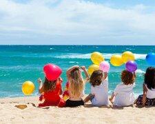 дети, лето