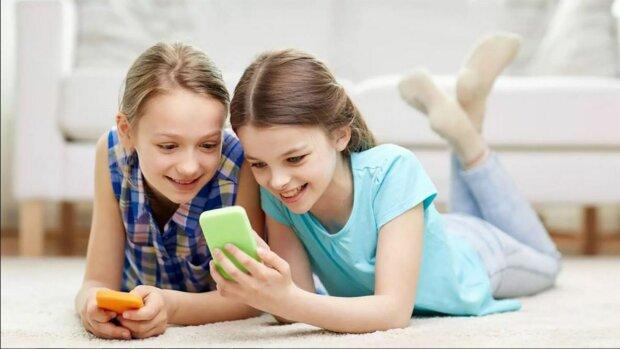 дети, интернет, соцсети