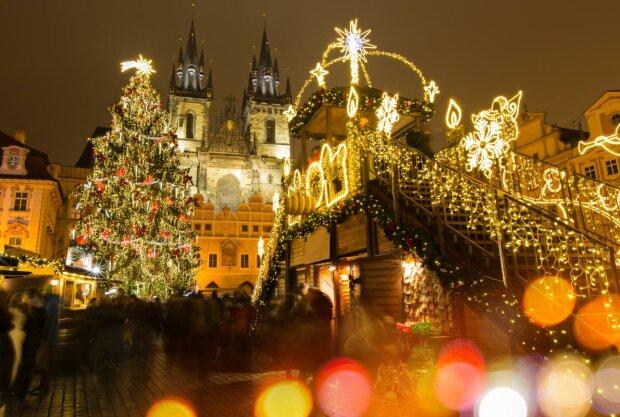 католическое рождество, прага