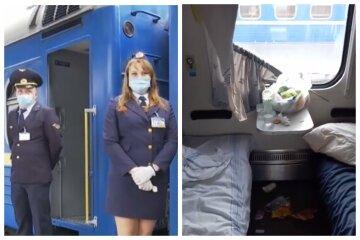 """""""Идем в Европу"""": юные спортсменки разгромили вагон поезда Днепр-Одесса, видео бардака"""