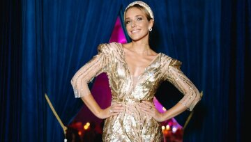 """Несравненная Катя Осадчая сверкнула голыми плечиками в публичном месте: """"Красота..."""""""