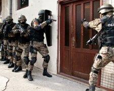 полиция Черногории рейд