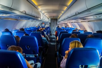 самолет, салон