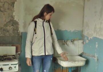 Вдову украинского воина поселили в квартире с ужасными условиями: красноречивые фото