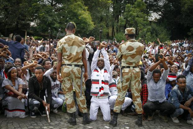 Эфиопов арестовывают за посты в Facebook