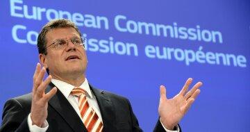 еврокомиссар по вопросам энергетического союза Марош Шефчович