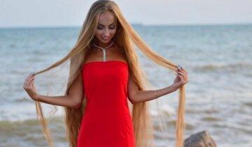 """Українка відростила двометрове волосся і вразила красою: """"Справжня Рапунцель"""""""