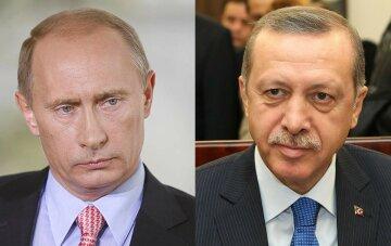 Путин Эрдоган