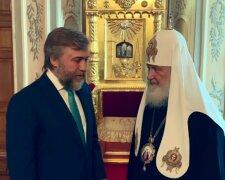 Новинский и патриарх Кирилл