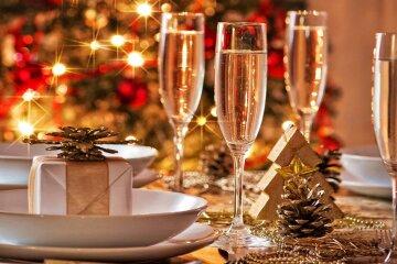 шампанское новый год желание