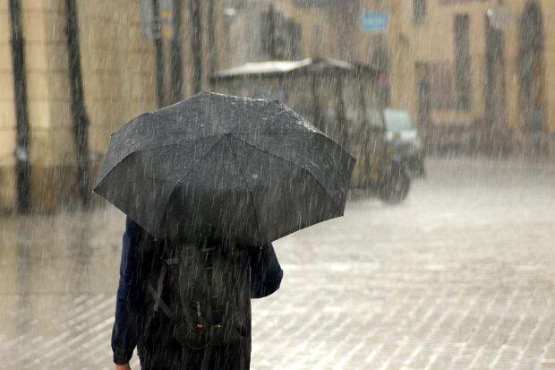 дощ, погода
