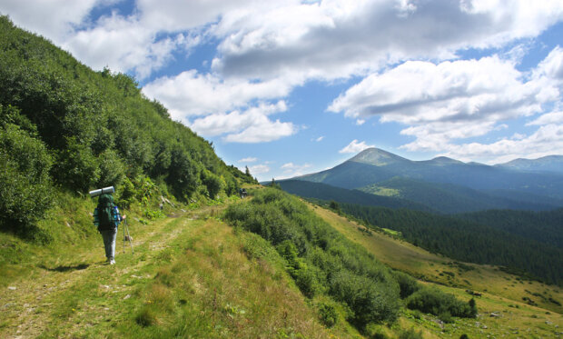 В Карпатских горах пропал турист