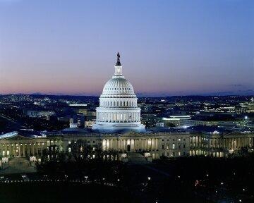 Капитолий Вашингтон США