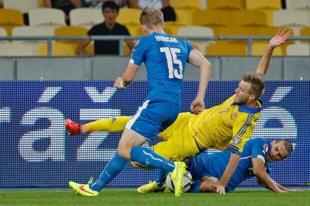 Украина Словакия футбол