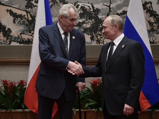 У президента Чехии случилась истерика из-за украинских «бандеровцев»: «Путин бы одобрил»