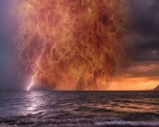 черное море, экологическая катастрофа, катастрофа на море, взрыв, молния
