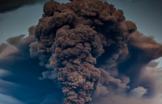 катастрофа, конец света, дым