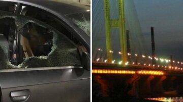 """""""Бандитські розборки"""" на Південному мосту сколихнули весь Київ: фото і подробиці того, що відбувається"""
