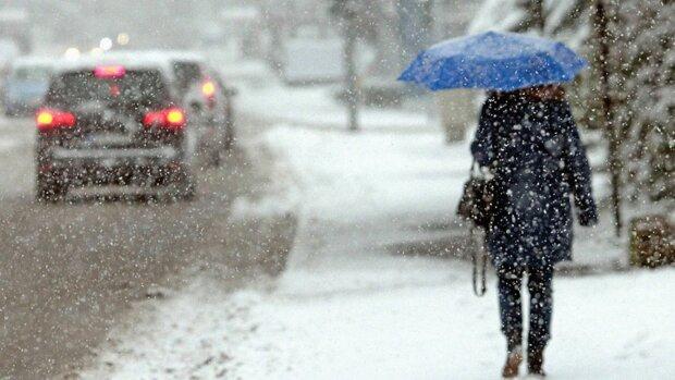 прогноз погоды, снег с дождем