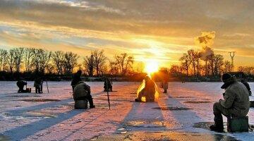 рыбалка, зима