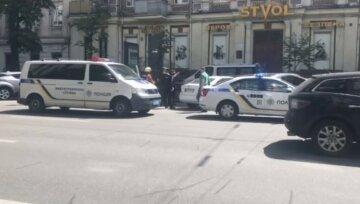 Загроза вибуху в центрі Києва: кинуті сили на пошуки, кадри