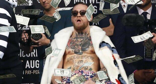Макгрегор заробив семизначну суму за секунду бою проти Серроне: шалені гроші