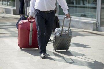чемодан заробитчане, турист