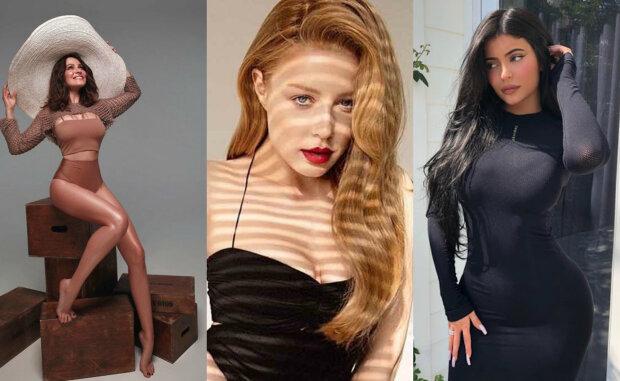 Кароль, Астафьева, Дженнер и другие звезды показали, что скрывают под слоем косметики: фото до и после преображения