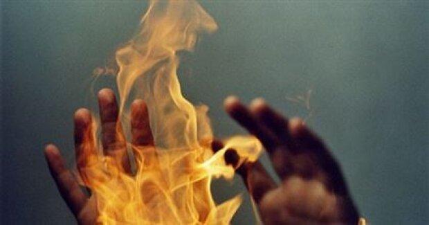 огонь пожар сожжение