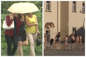 """Новий циклон розділить Україну, дощі й сильна спека """"порвуть"""" країну на частини: якою буде погода"""