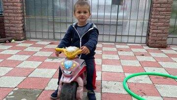 Похищение 3-летнего Димы попало на видео: подозревают отца