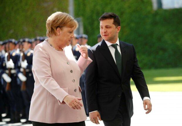 меркель, зеленский