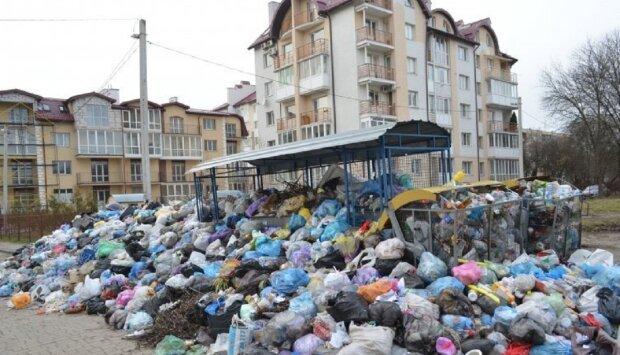 Жителі елітного району ризикують захлинутися сміттям в Одесі: кадри вражають