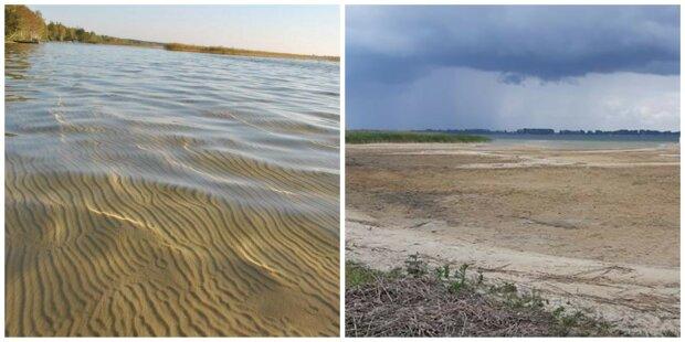 Легендарне озеро Світязь зникає на очах: що залишилося від гордості України