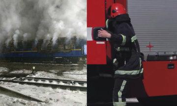 """Трагедия в """"Укрзализныце"""", вагон с людьми выгорел дотла: подробности и кадры ЧП"""
