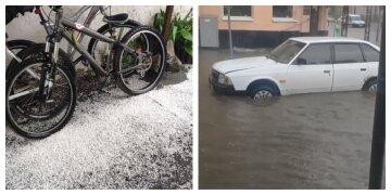 Обвалився навіть град: Харків заливає потужна злива з грозами, кадри негоди