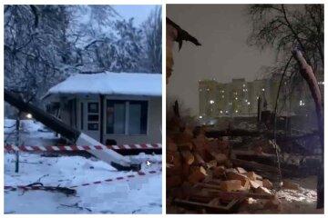 """Люта стихія з новою силою атакувала Одесу, відео негоди: """"обрушився житловий будинок, падають стовпи і світлофори"""""""